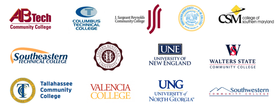 Some Schools that Used SmarterMeasure in Their QEP: AB Tech Community College, Columbus Technical College, J. Sergeant Reynolds Community College, Southeastern Technical College, Eastern Kentucky University, University of New England, Tallahassee Community College, Valencia College, University of North Georgia
